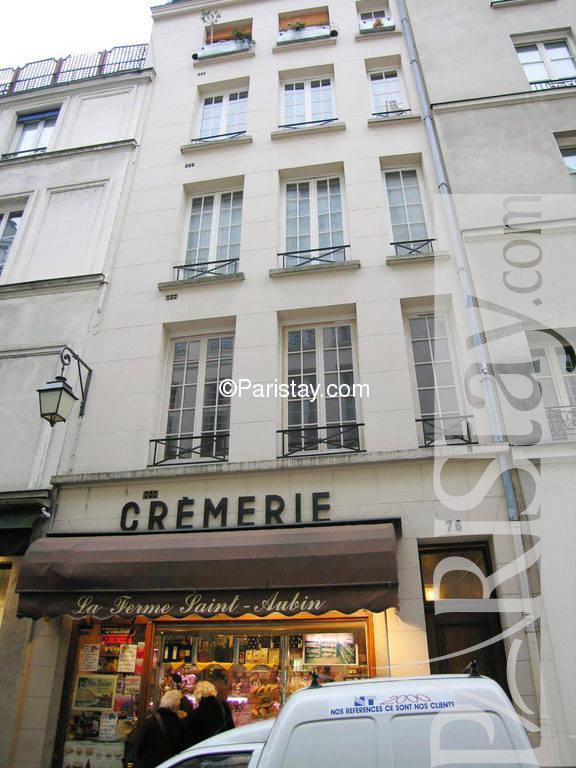 Paris Location Meubl E Appartement Type T2 Ile Saint Louis