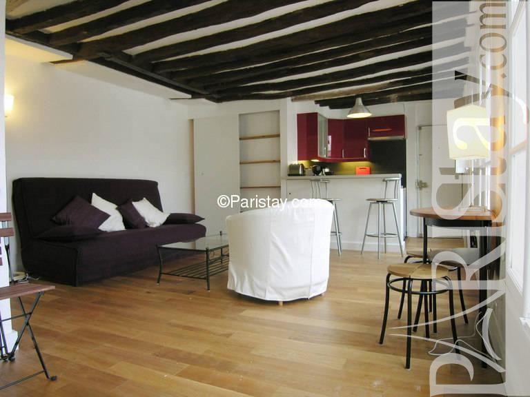 paris location meubl e appartement type t2 charlot marais
