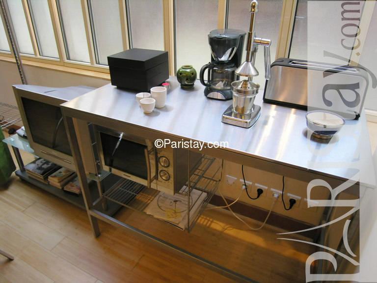 Paris location meubl e duplex type t3 au maire spa for Salon maires
