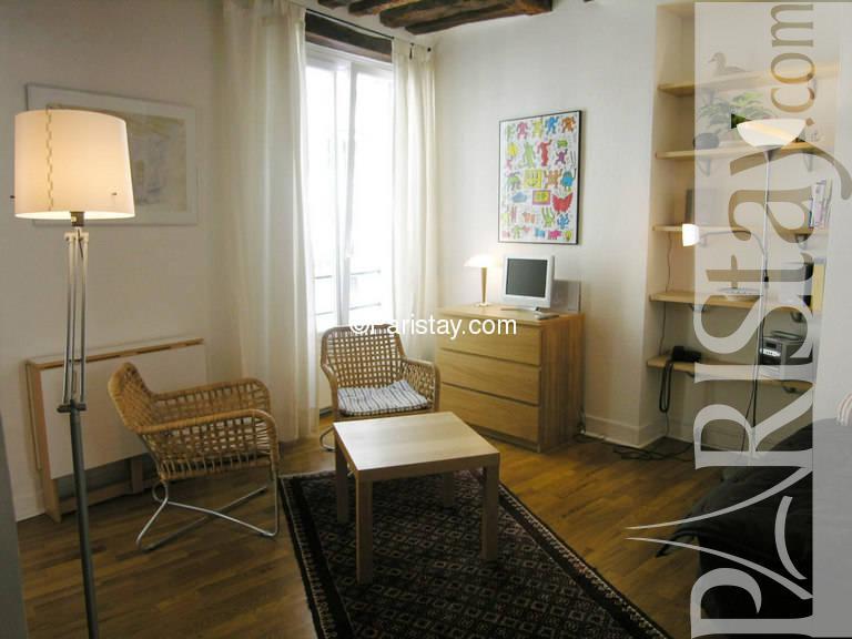 paris location meubl e appartement type t1 etudiant studio jussienne. Black Bedroom Furniture Sets. Home Design Ideas