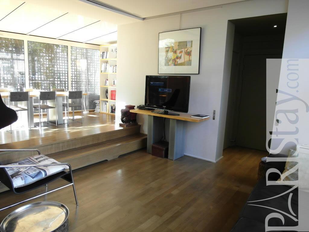 Paris location meubl e appartement type t3 mouffetard terrace for 1212 salon asheboro