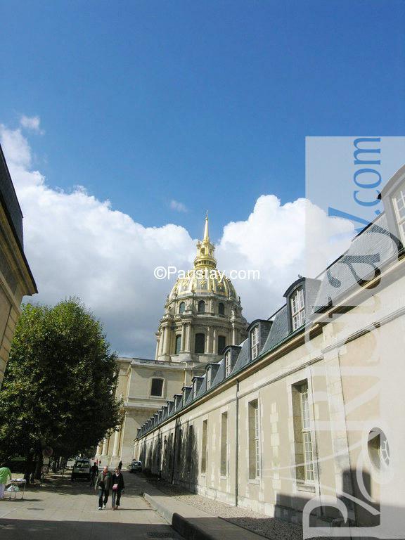 Paris location meubl e appartement type t1 studio invalides 15 - Location meublee paris 15 ...