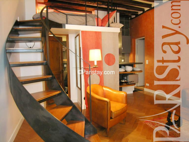Studio Apartment With Mezzanine