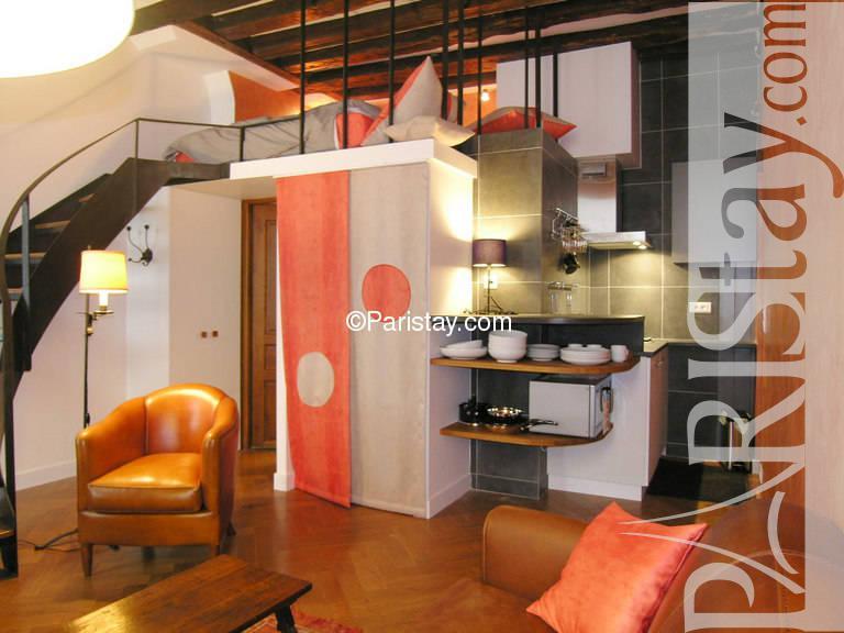 studio mezzanine to rent paris st germain des pres 75006 paris. Black Bedroom Furniture Sets. Home Design Ideas