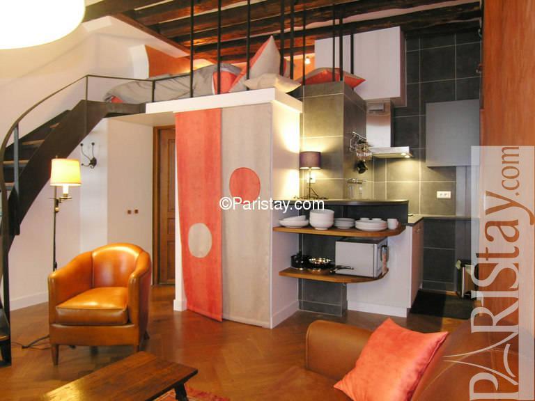 Studio Apartment With Mezzanine studio mezzanine to rent paris st germain des pres 75006 paris