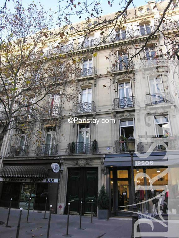 Location in paris champs elysees champs elysees 75008 paris - Studio des champs elysees ...