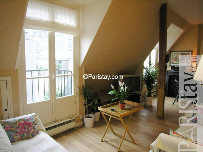 paris location meubl e appartement type t2 pergolese one. Black Bedroom Furniture Sets. Home Design Ideas