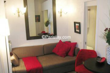 Appartement Hauteville red
