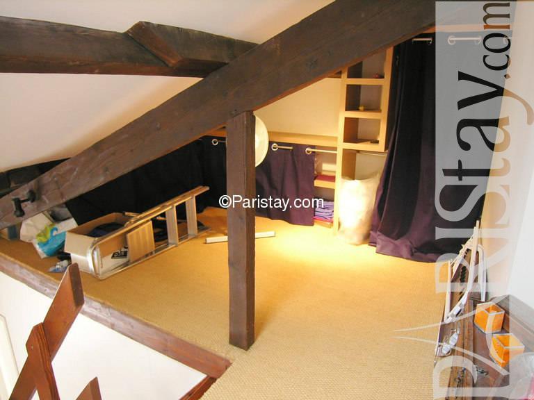Paris location meubl e appartement type t2 lyonnais mezzanine - Kind mezzanine kantoor ...