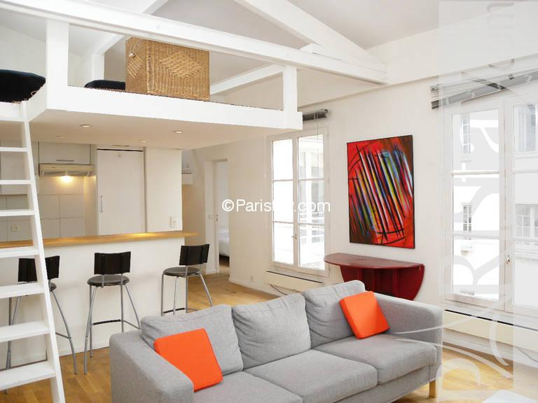 2 Bedroom Duplex Apartment For Rent In Paris Long Term