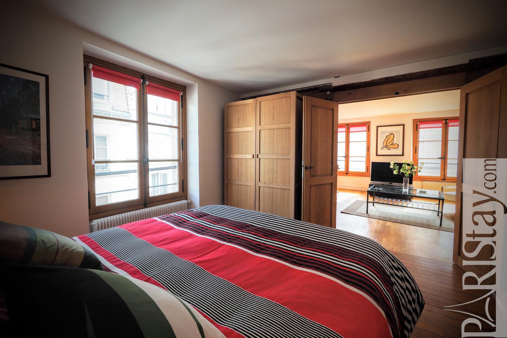 One Bedroom Long Tem Rental Le Marais St Paul Le Marais 75004 Paris
