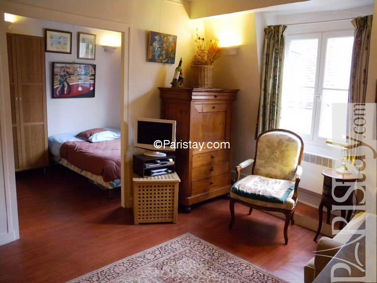e bedroom 1 bed apartment for rent notre dame de Paris