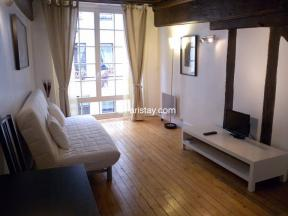 Apartment Quincampoix Spacious Studio - studio