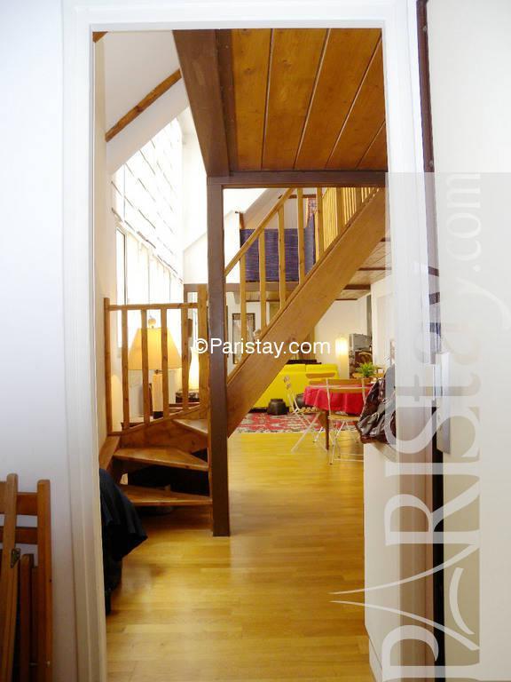 Loft Style 1 Bedroom Aparment Short Term Montorgueil 75002