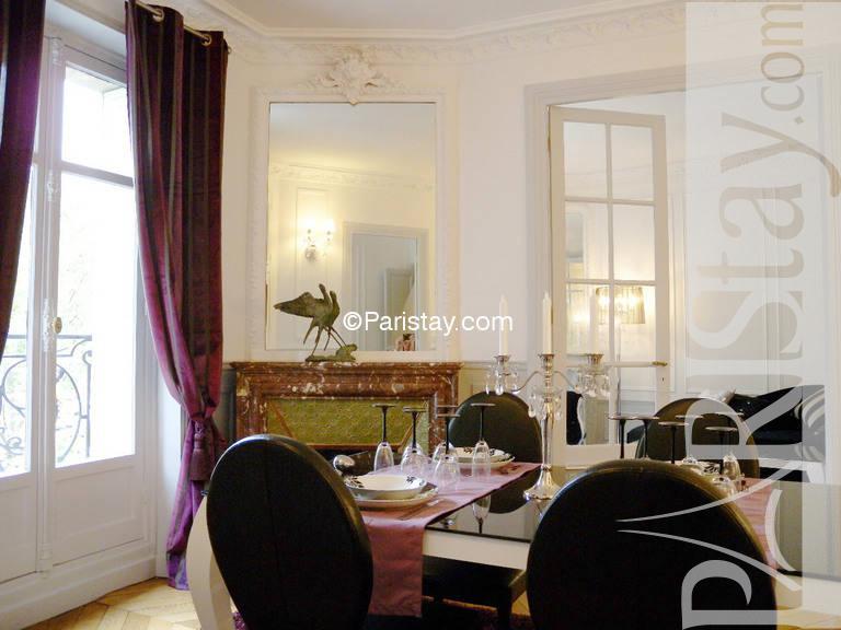 Paris location meubl e appartement type t2 exelmans boulevard for Salle a manger 1920
