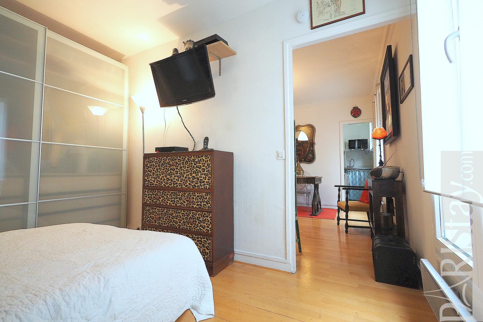 Affordable 1 bedroom apartment for rent Parc Monceau 75017 ...