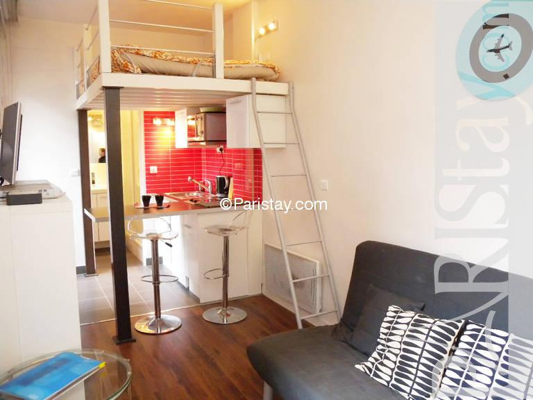 Furnished studio apartment paris Place des vosges 75004 Paris