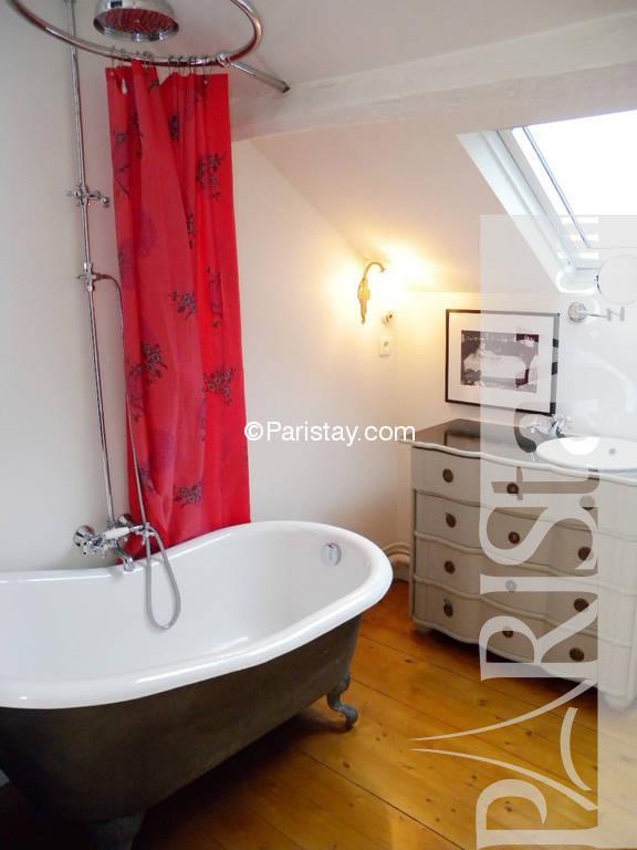 Paris location meubl e duplex type t2 italie duplex for Duplex appartement paris