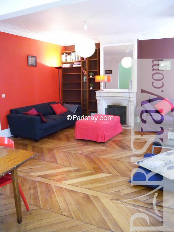 2 bedroom apartment long term renting paris Place de Clichy ...