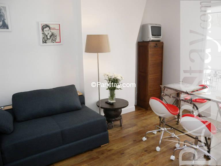 1 Bedroom Apartment Long Term Renting Paris Montmartre