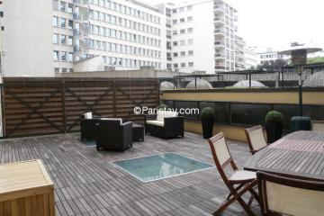 Appartement Arsenal Terrasse
