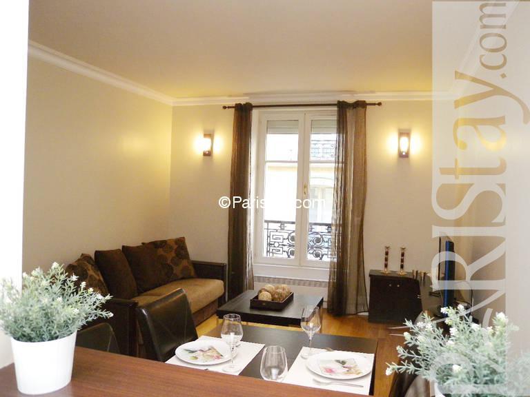 Paris location meubl e appartement type t2 wagram etoile for Salon wagram