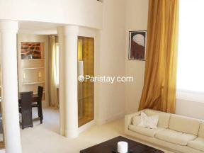 Apartment Alasseur Eiffel Duplex - 2 bedrooms