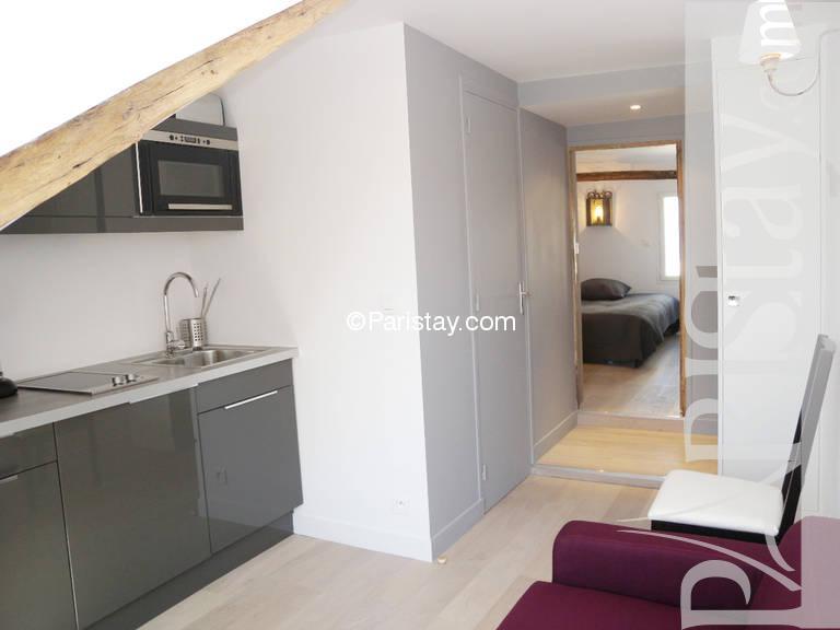 paris location meubl e appartement type t1 studio dauphine. Black Bedroom Furniture Sets. Home Design Ideas