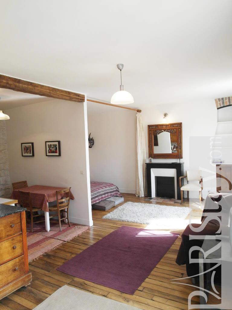 Paris location meubl e appartement t1 studio bastille for Alcove studio
