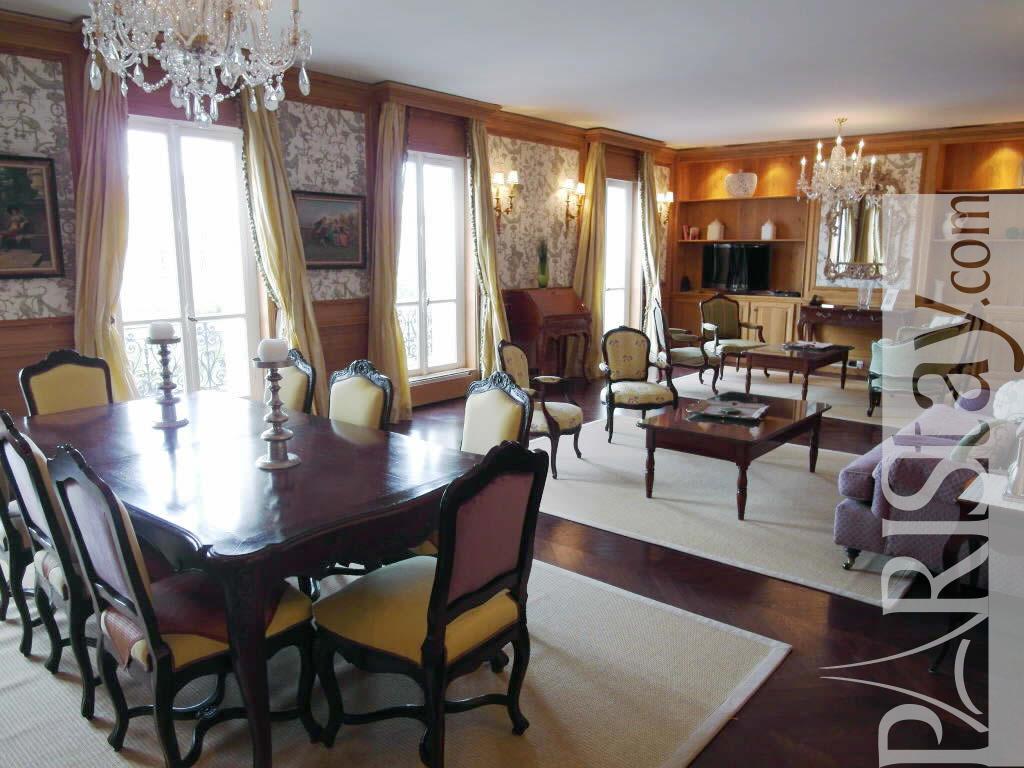 3 bedroom luxury apartment vacation rental paris etoile 75016 paris