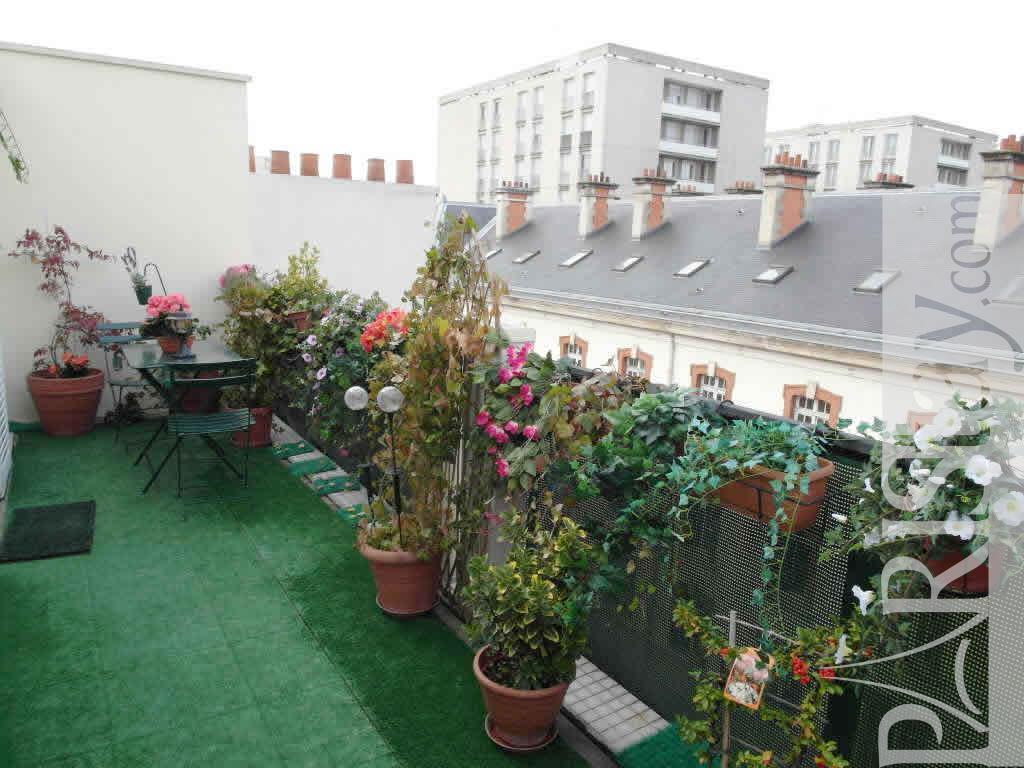 1 bedroom housing in paris short term renting mouffetard 75013 paris - Lay outs garden terrace ...