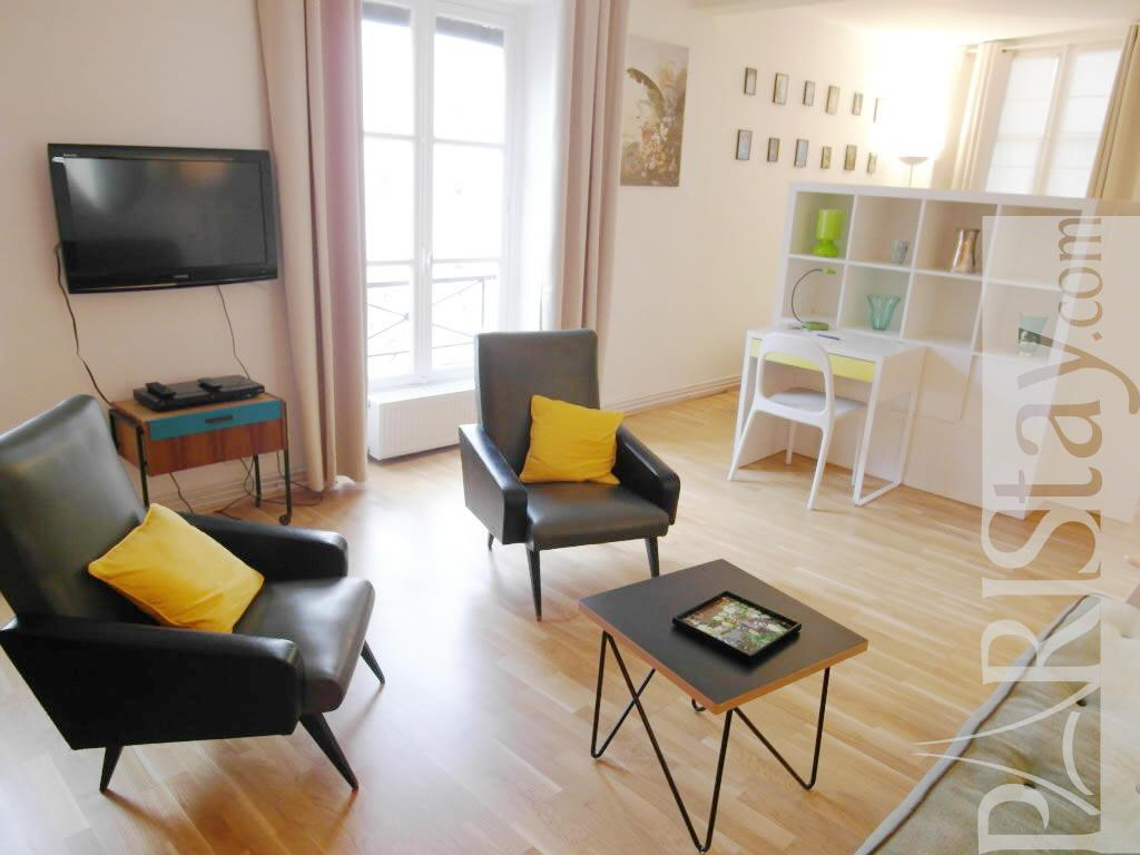 studio paris lettings short term rental jardin des plantes 75005 paris. Black Bedroom Furniture Sets. Home Design Ideas