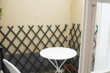 Apartment Champagne patio