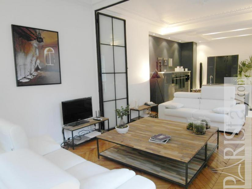 2 Bedroom Loft Luxury Apartment Renting Grands Boulevards