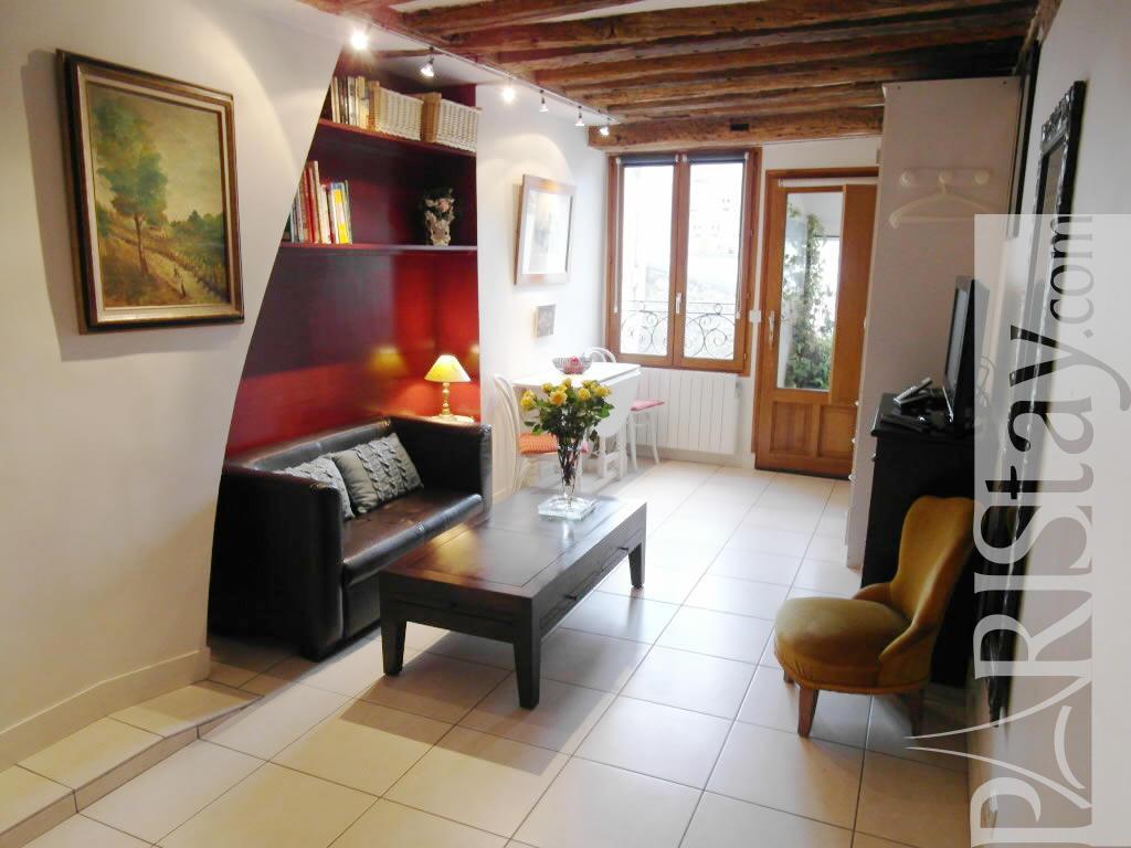 Living Room Furniture St Louis Studio Long Term Rent Housing In Paris Ile St Louis 75004 Paris