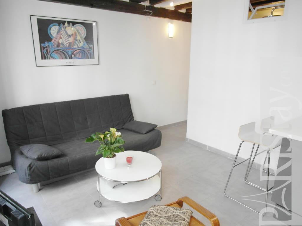Studio Long Term Rent Paris Letting Le Marais 75003 Paris
