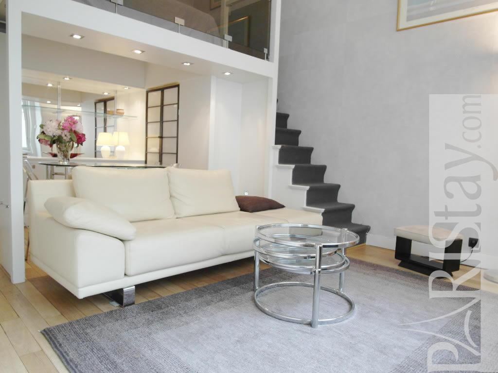 Studio Mezzanine Long Term Rent Apartment In Paris Parc Monceau 75017 Paris
