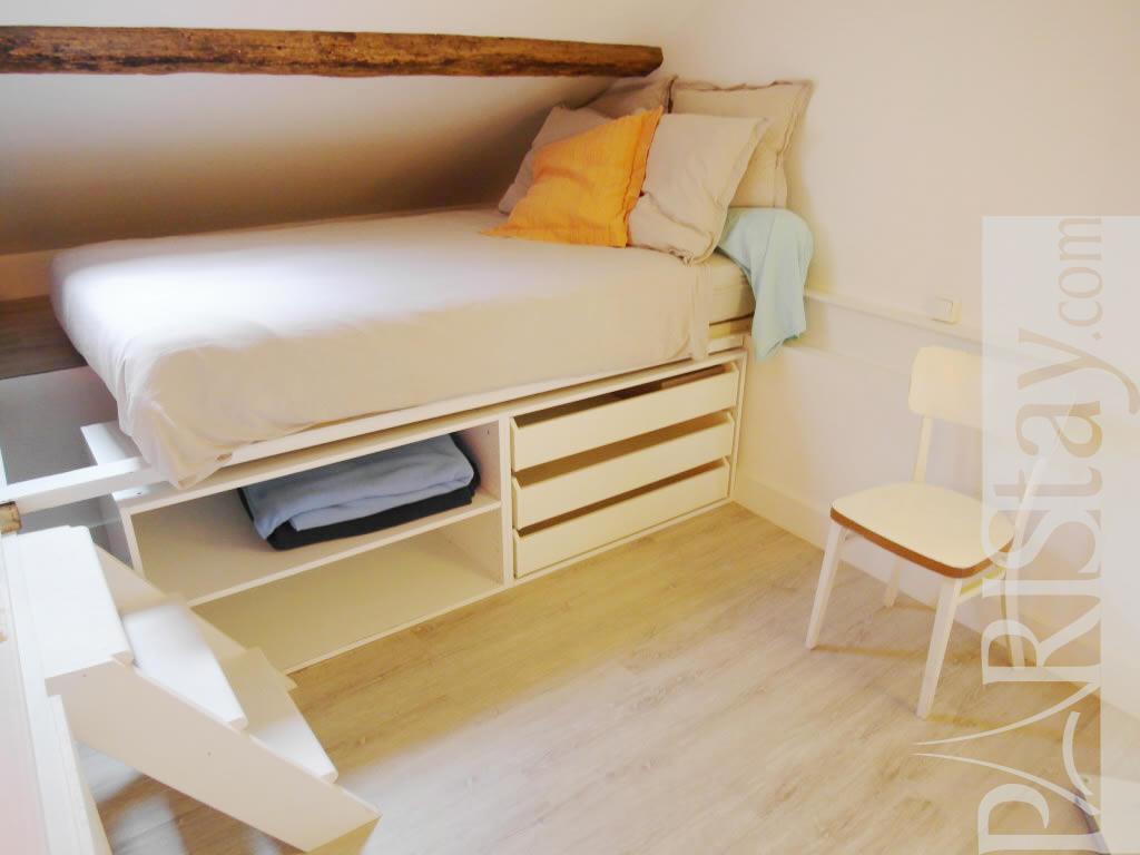 1 bedroom apartment long term rental paris Mouffetard ...