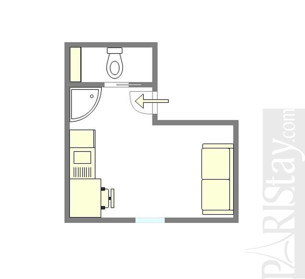 Affordable Studio Apartments: Affordable Studio Long Term Rent Paris Ile St Louis 75004