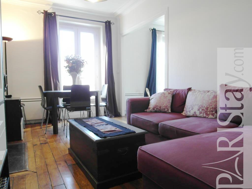 Long Term 1 Bed Apartment In Paris 18th Arrondisst Montmartre