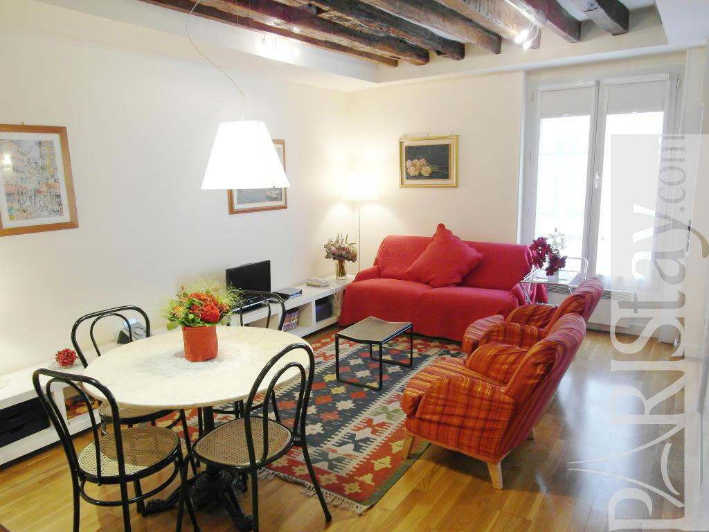 1 bedroom apartment paris short term rental ile st louis