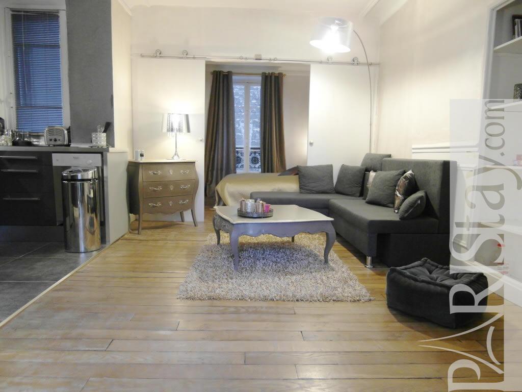 1 Bedroom Apartment Long Term Renting Arc De Triomphe 75017 Paris