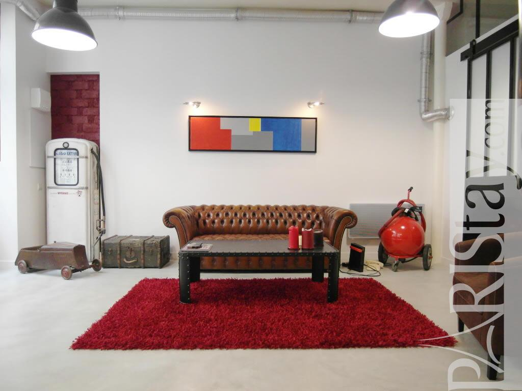 2 bedroom loft long term renting paris bastille 75011 paris for Living room on main