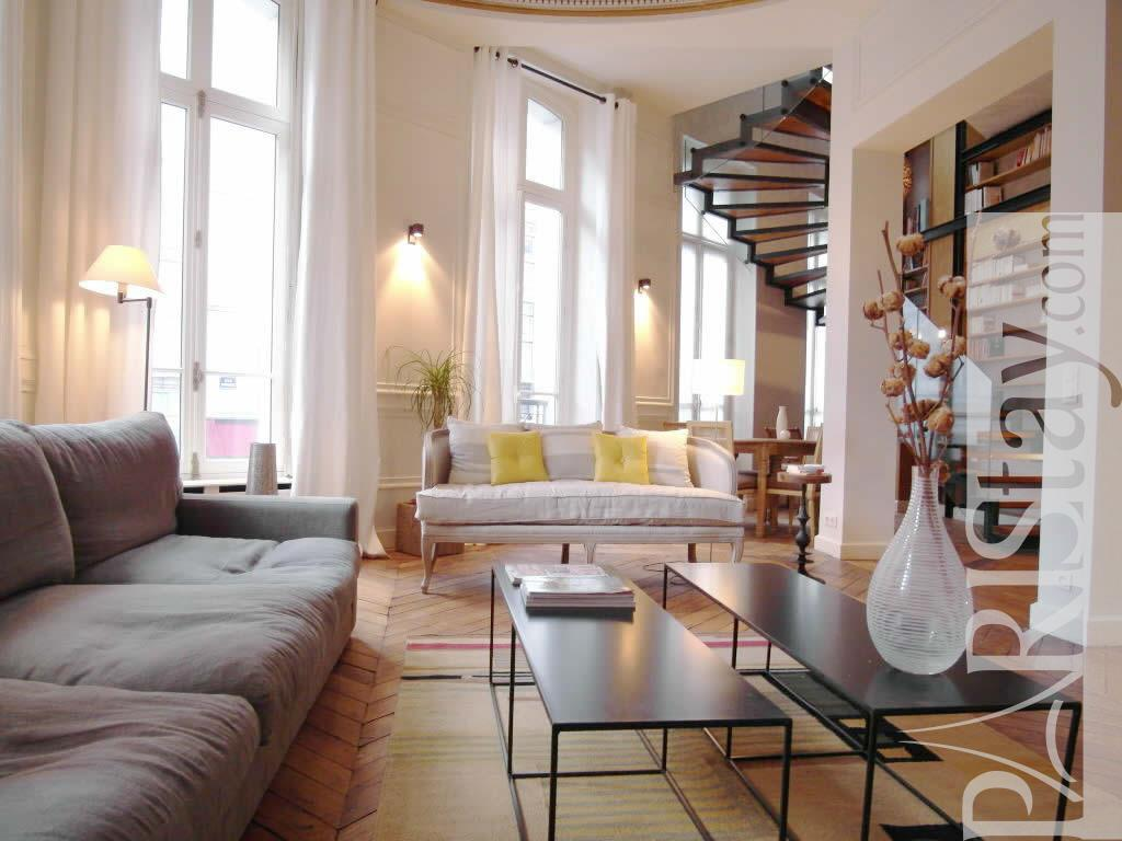 Living Room Rentals Paris Luxury Apartment Rentals Montorgueil 75002 Paris