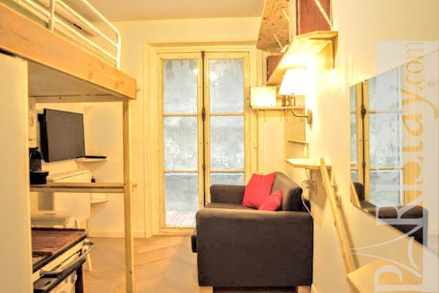 Affordable studette long term rent paris Batignolles 75017 Paris