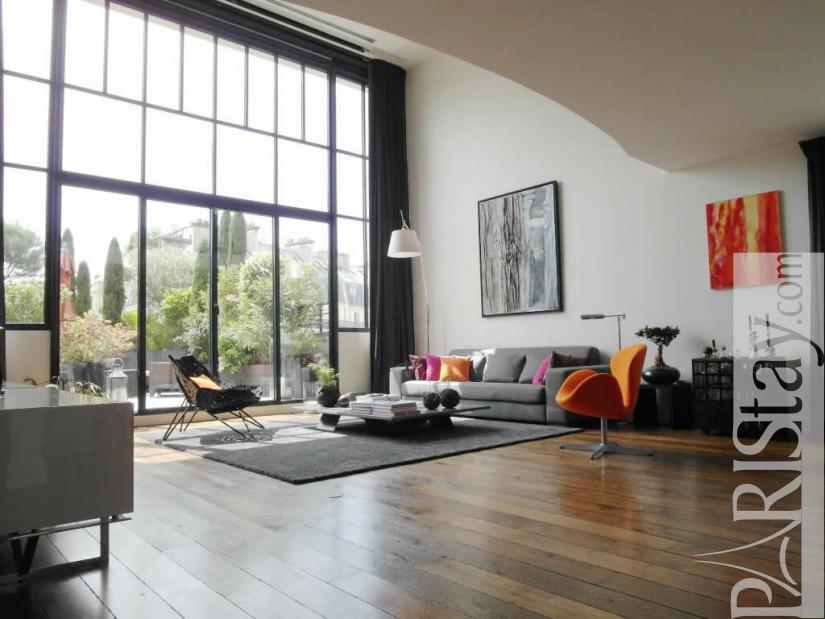 Paris Luxury Apartment Long Term Rent Parc Monceau 75017 Paris
