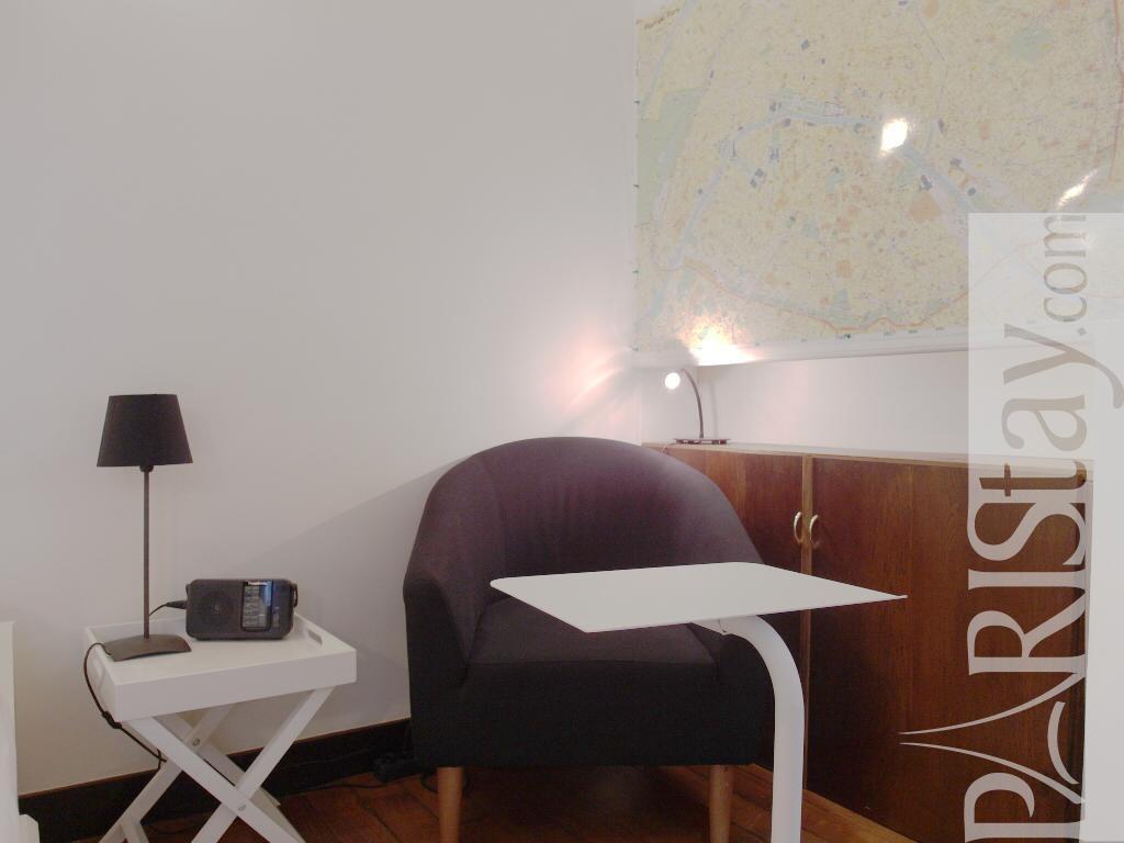 Paris location meubl e appartement type t2 rivoli cosy for Chambre a coucher cosy
