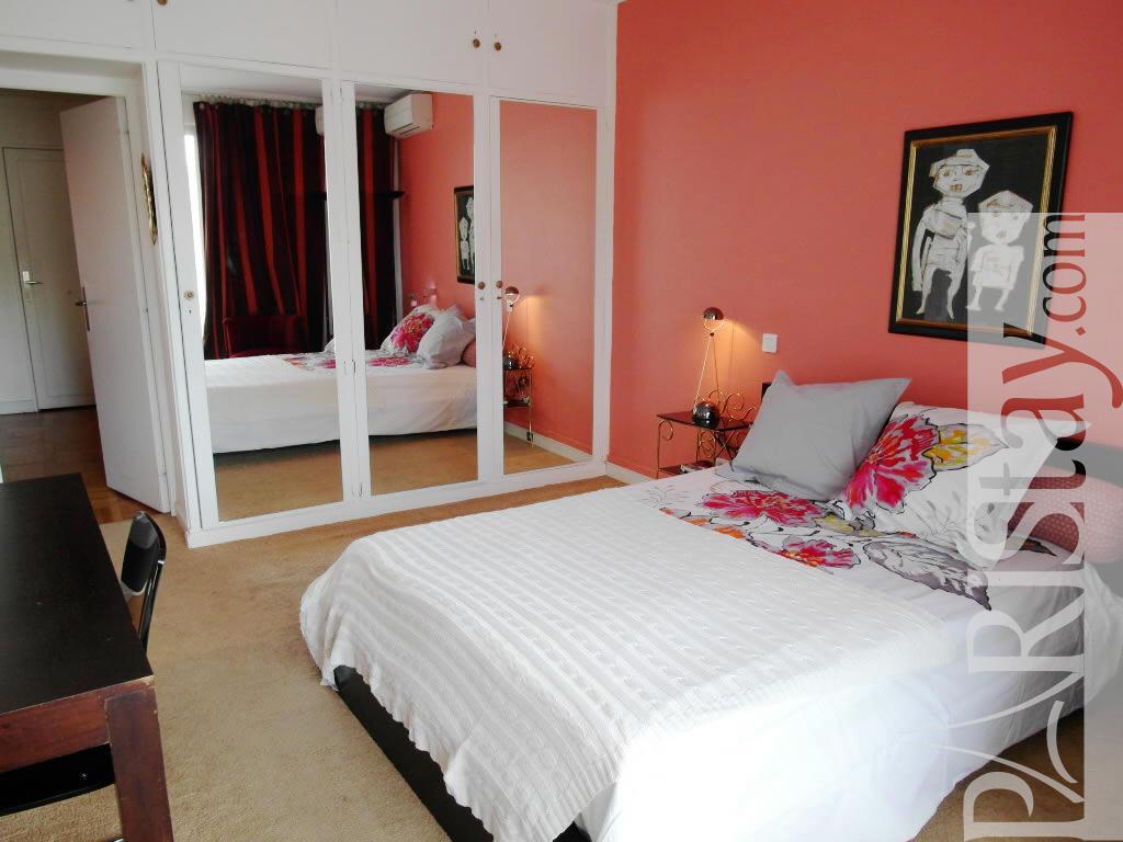 2 Bed Bedroom long term renting paris etoile 75016 paris