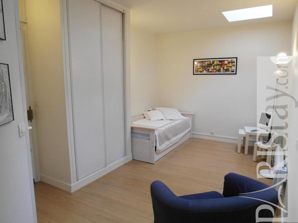 Long Term Renting Flandrin Studio Apartment Trocadero 75016 Paris