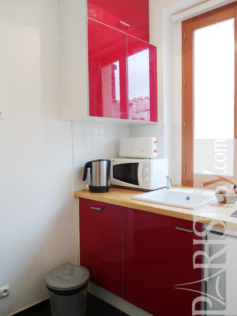 Paris Location Meubl E Appartement Type T1 Studio Vertbois
